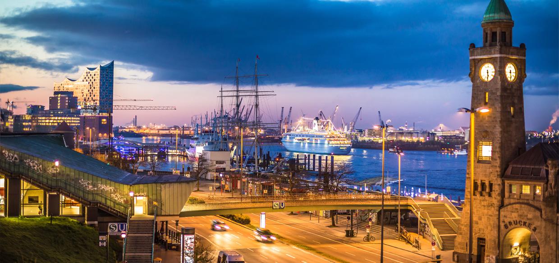 Wohnen und arbeiten in Hamburg